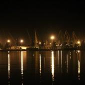 Вид на порт Измаил