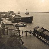 Порт в начале ХХ века