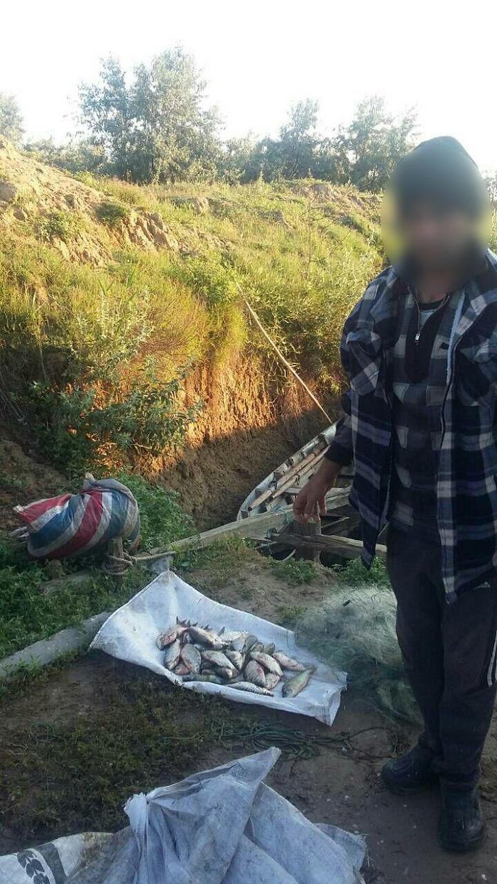 За несколько часов на озере Ялпуг выявлены трое браконьеров. ФОТО