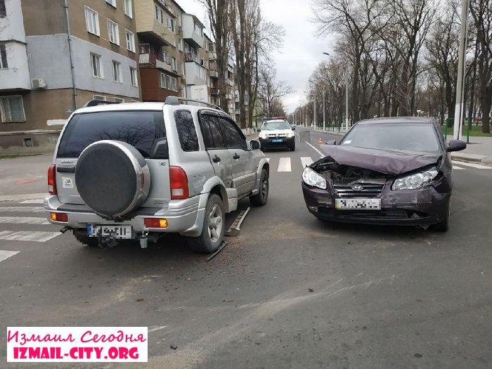 В Измаиле ДТП с пострадавшей. ФОТО