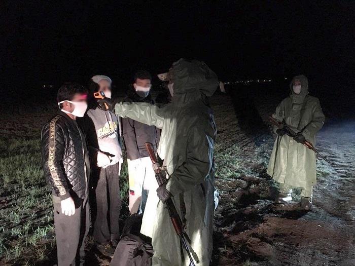 В Бессарабии задержаны четверо сирийских мигрантов