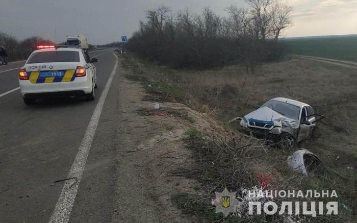 Разрушительное ДТП на трассе Одесса — Рени: один человек погиб, трое пострадали. ФОТО