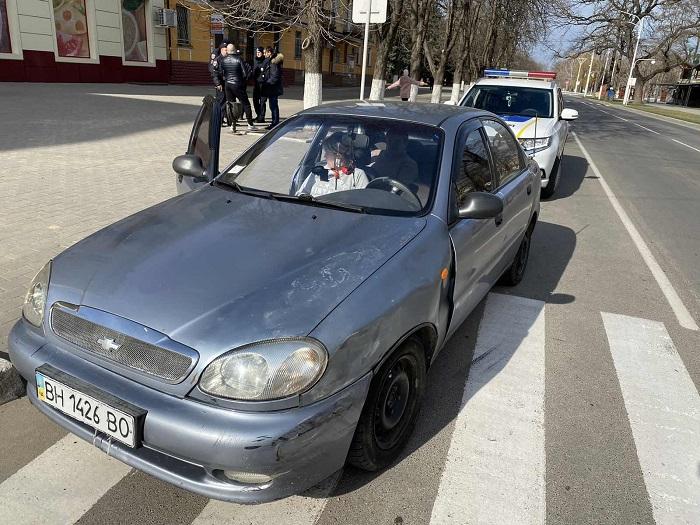 ДТП в Измаиле. Daewoo - Toyota. ФОТО