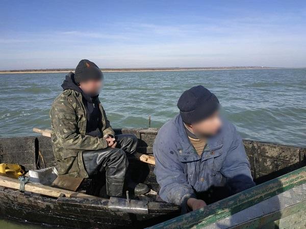 На озере Ялпуг браконьеры выловили 28 кг рыбы на 13 тыс. грн. ФОТО