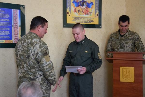 В Измаильском отряде чествовали пограничников - участников войны в Афганистане