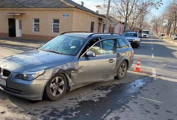 ДТП в Измаиле. Chevrolet протаранил BMW.ФОТО