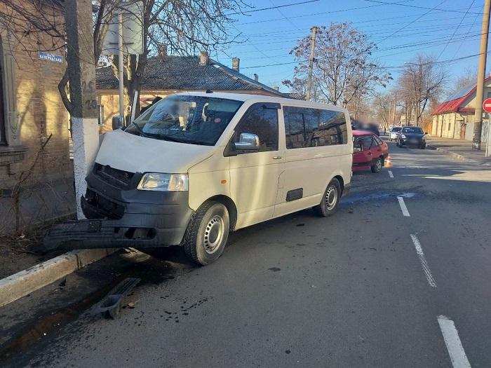 ДТП в Измаиле. Серьезно пострадала девушка. ФОТО
