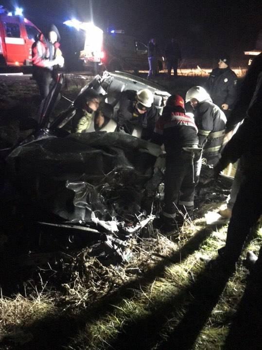 На трассе Одесса-Рени произошло смертельное ДТП. ФОТО. ВИДЕО