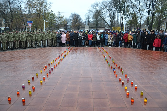 Всеукраинская акция «Зажги свечу» в Измаиле