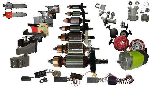 Комплектующие и запчасти для электроинструмента