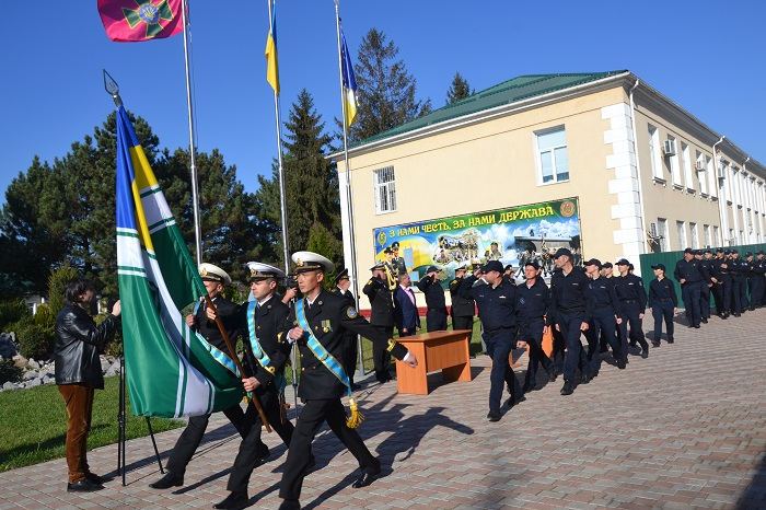 В Измаиле состоялась присяга моряков-пограничников. ФОТО