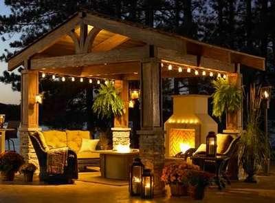 Как создать красивое и функциональное освещение на даче