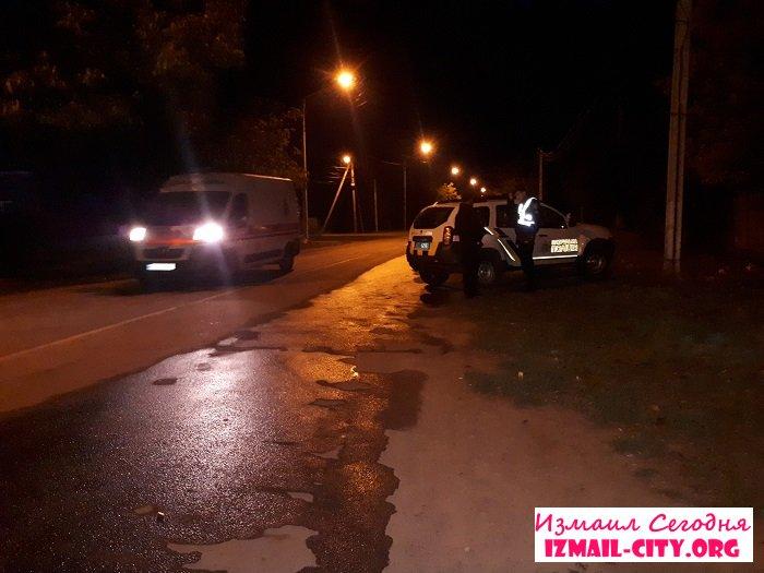 В Измаиле на улице скончался мужчина. ФОТО