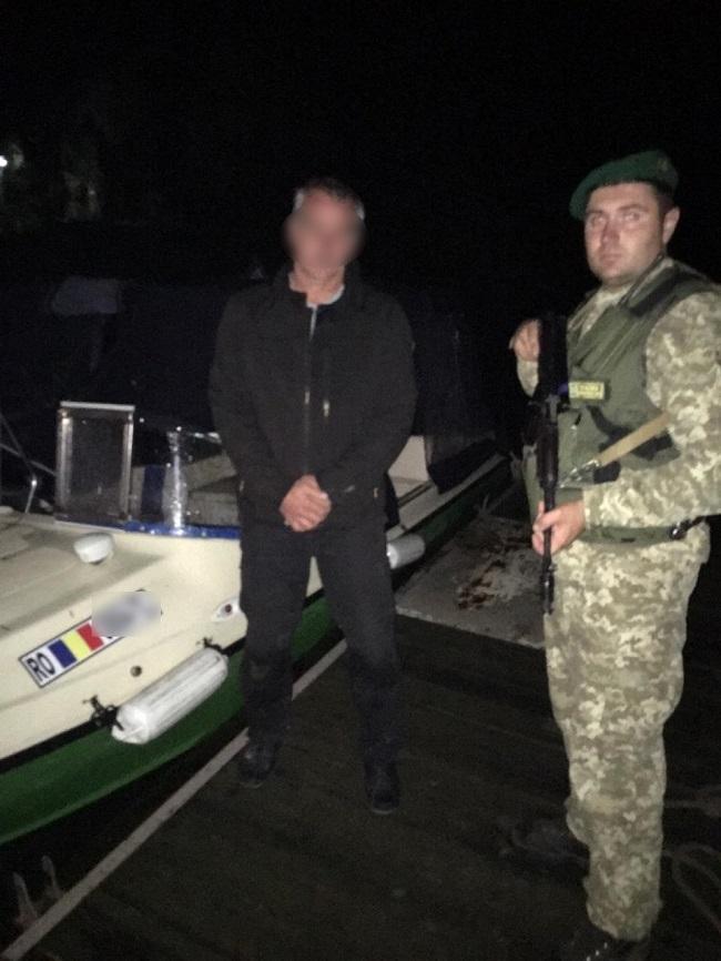 Румынский катер ночью нарушил границу Украины