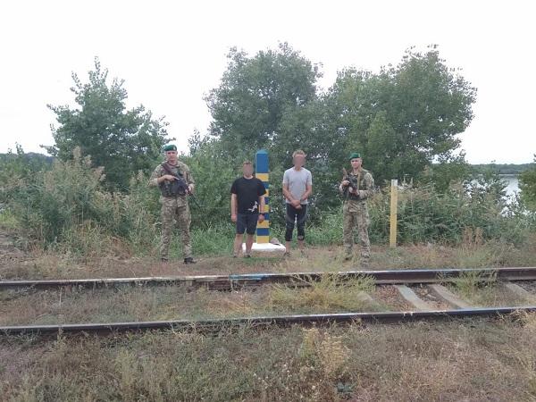Пограничники задержали двух голландских каякеров, которые «посетили» Рени, чтобы попить кофе