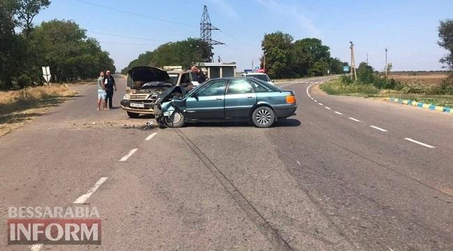 По дороге в Приморское произошло ДТП. ФОТО