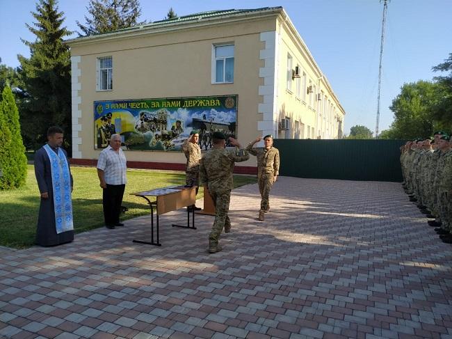 Пограничники Измаильского отряда отметили День Государственного флага и День Независимости