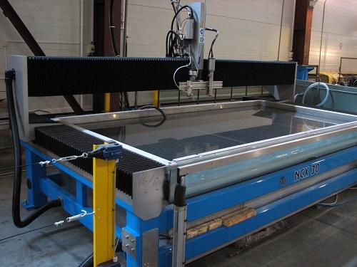 Гидрорезка - удобный способ обработки высокопрочных материалов