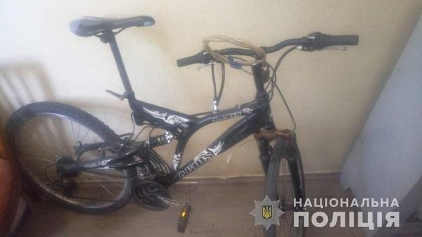 Измаильские правоохранители задержали подозреваемого в краже велосипеда