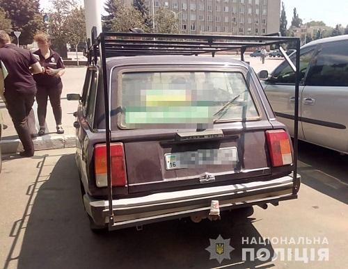 Жителя Измаила оштрафовали за наклейку с предвыборной агитацией