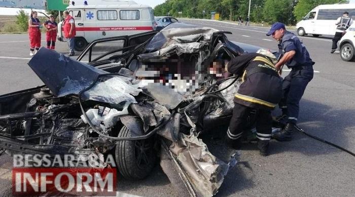 На трассе Одесса-Рени в ДТП погибли четверо. ФОТО. ВИДЕО