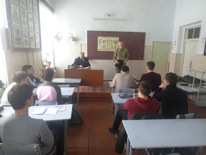 Пограничники в школах города Измаил провели профориентационную работу