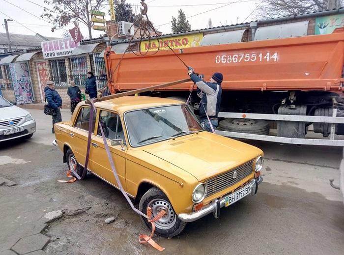эвакуация авто Измаил