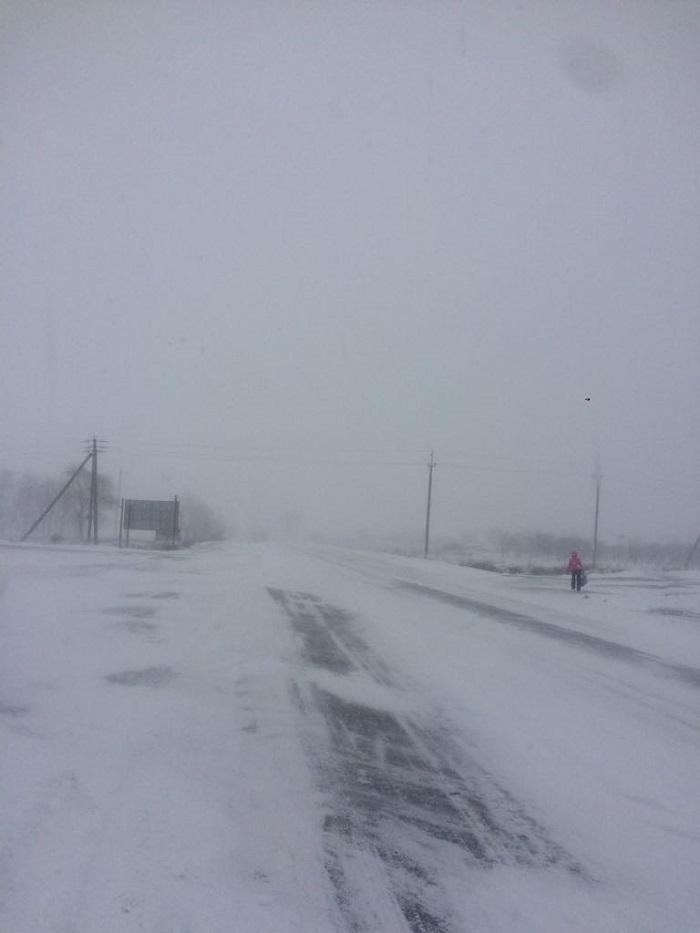 снежная стихия Измаил
