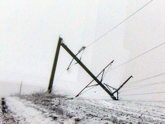 из-за уничтожения данной линии электропередач Измаил был полностью обесточен