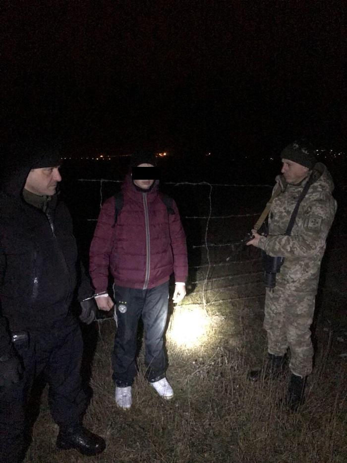 Пограничники Измаильского отряда с помощью тепловизора обнаружили нарушителя границы