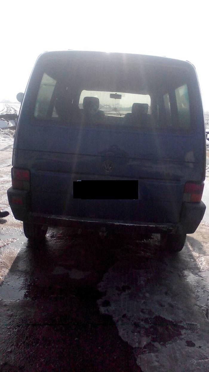 Пограничники Измаильского отряда обнаружили на украинско-молдавской границе автомобиль-фантом
