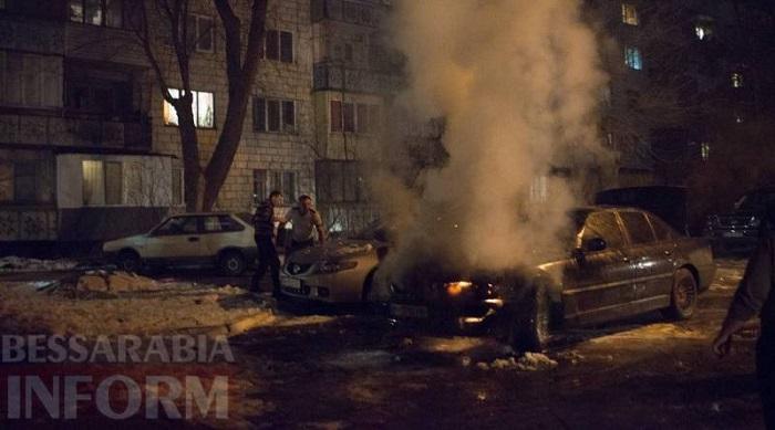 поджог авто Измаил