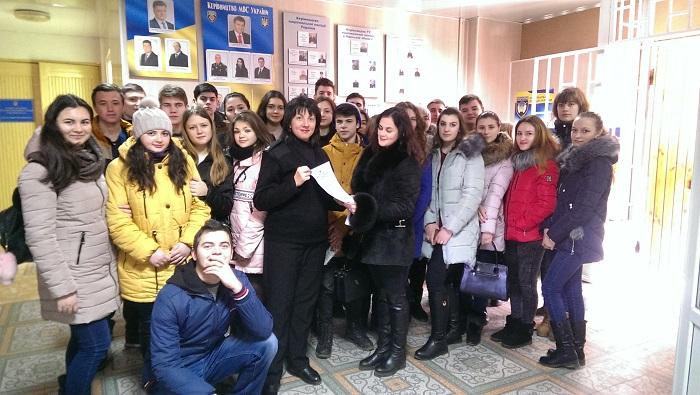 Ізмаїльські правоохоронці провели день відкритих дверей для студентів