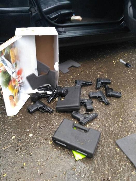 В Измаиле задержан торговец оружием. ФОТО