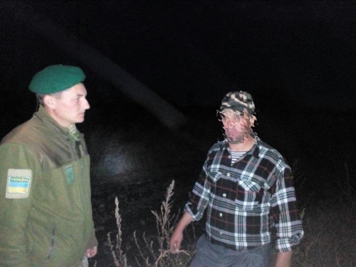 Пограничники Измаильского отряда задержали гражданина Молдовы за незаконное пересечение государственной границы