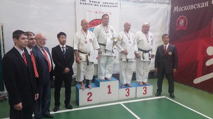 Известный измаильский тренер по каратэ занял второе место на престижном соревновании