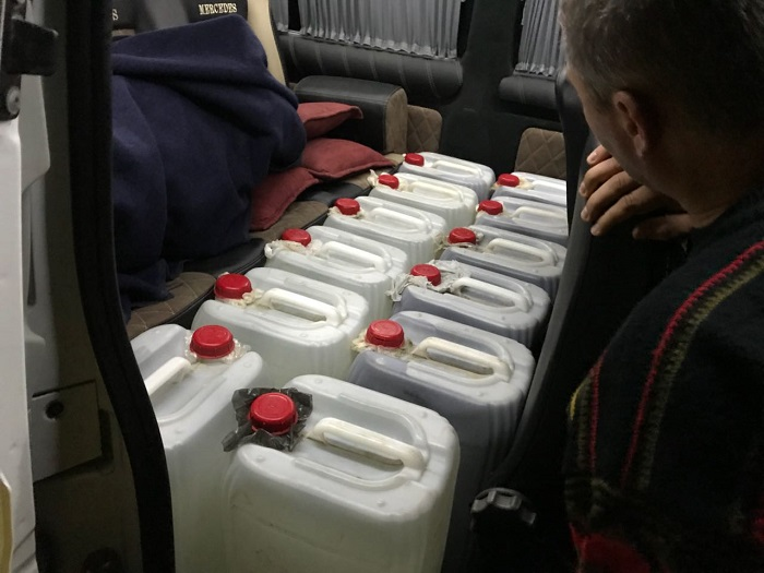 Измаильские пограничники изъяли 400 литров суррогатного спирта