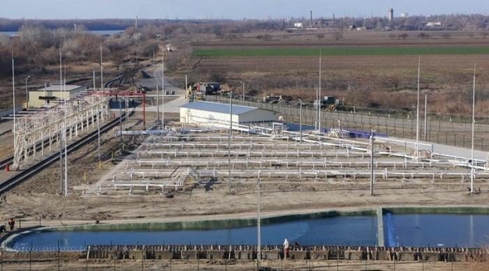 терминал по перевалке сжиженного газа ООО «Вилле Форте Украина»