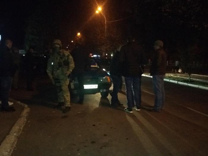 В Измаиле спецназ СБУ задержал вооруженного мужчину.