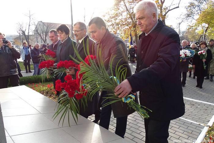 Измаил отмечает День Достоинства и Свободы Украины