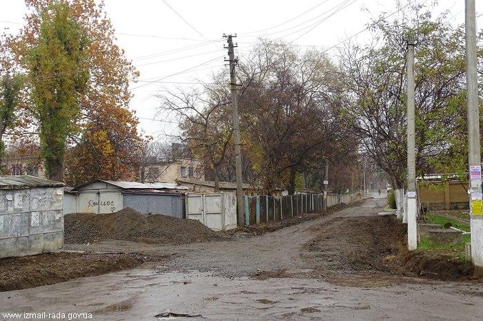 Улица Куликово Измаил