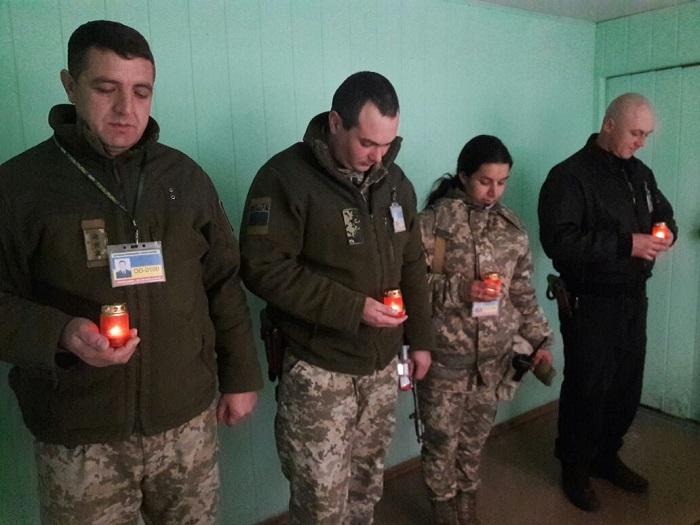 Измаильские пограничники почтили память жертв Голодоморов