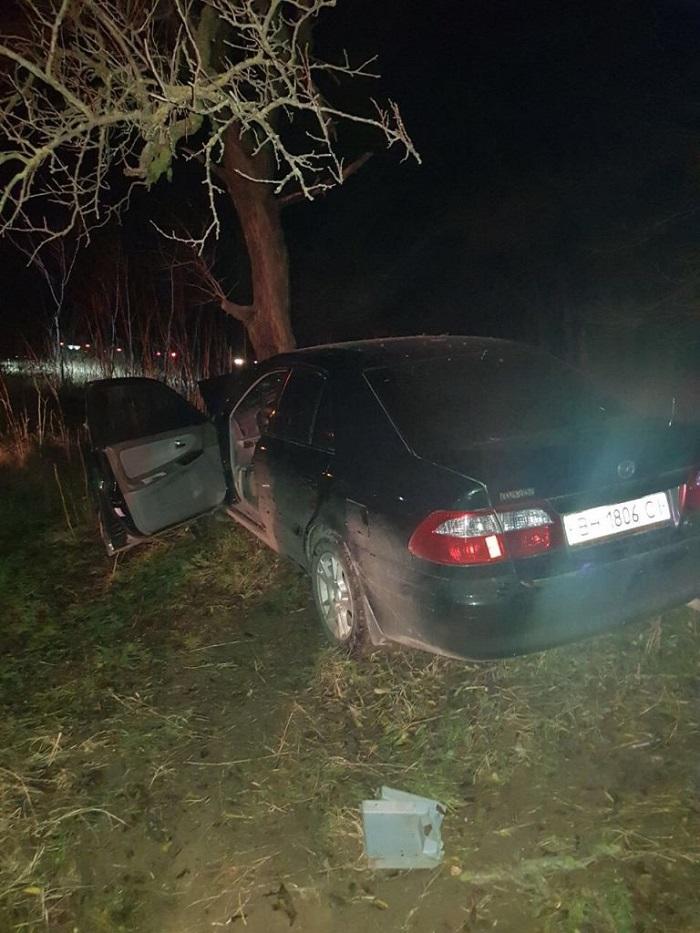ДТП трасса Измаил Болград