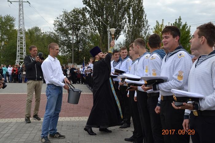 Посвящение в курсанты Измаил