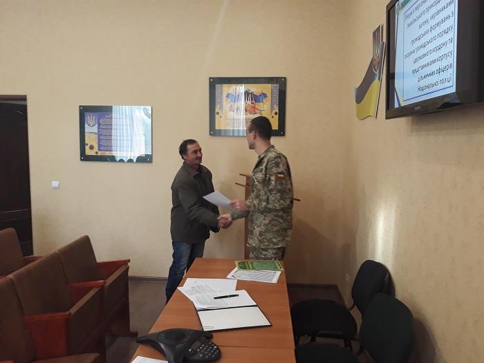 В Измаильском отряде прошел слет инспекторов пограничной службы и руководителей общественных формирований