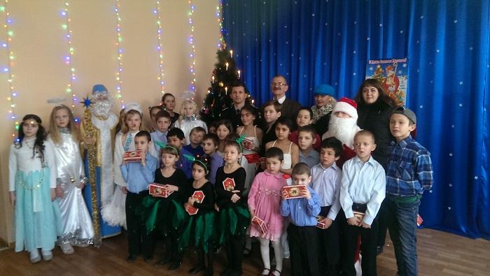 Полицейские Измаила поздравили с праздником деток из реабилитационного центра