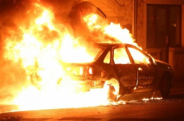 в Измаиле сожгли авто