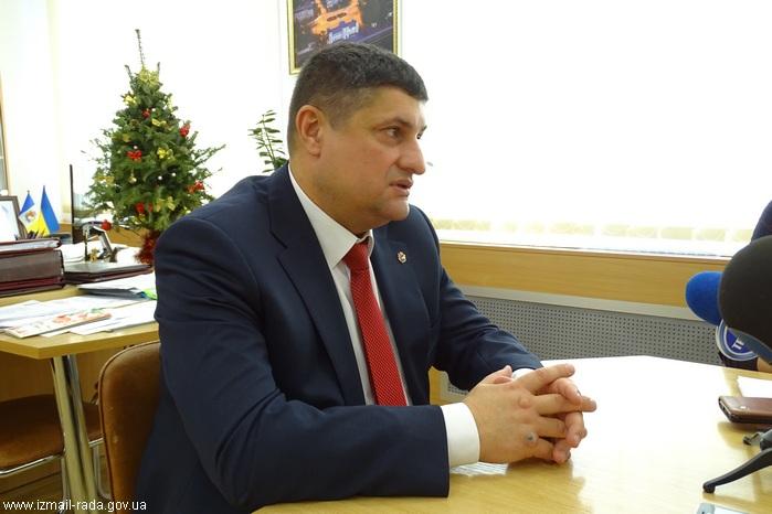 Городской голова Андрей Абрамченко - журналистам об итогах уходящего года