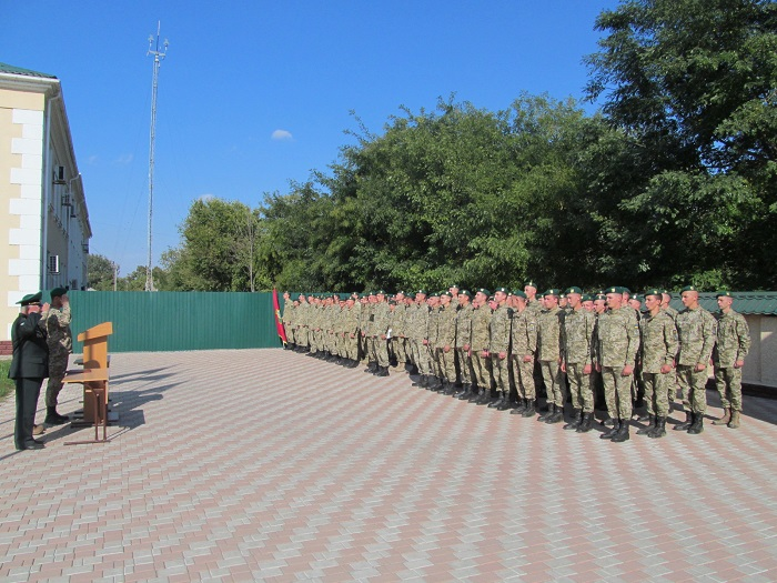В Измаильском пограничном отряде демобилизовалась первая партия срочников