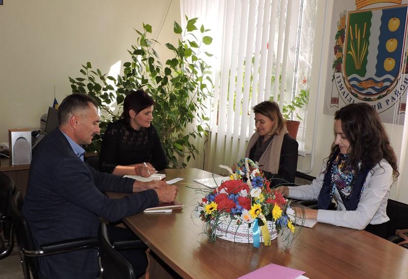 В Измаильские чиновники встретились с представителями миссии ООН